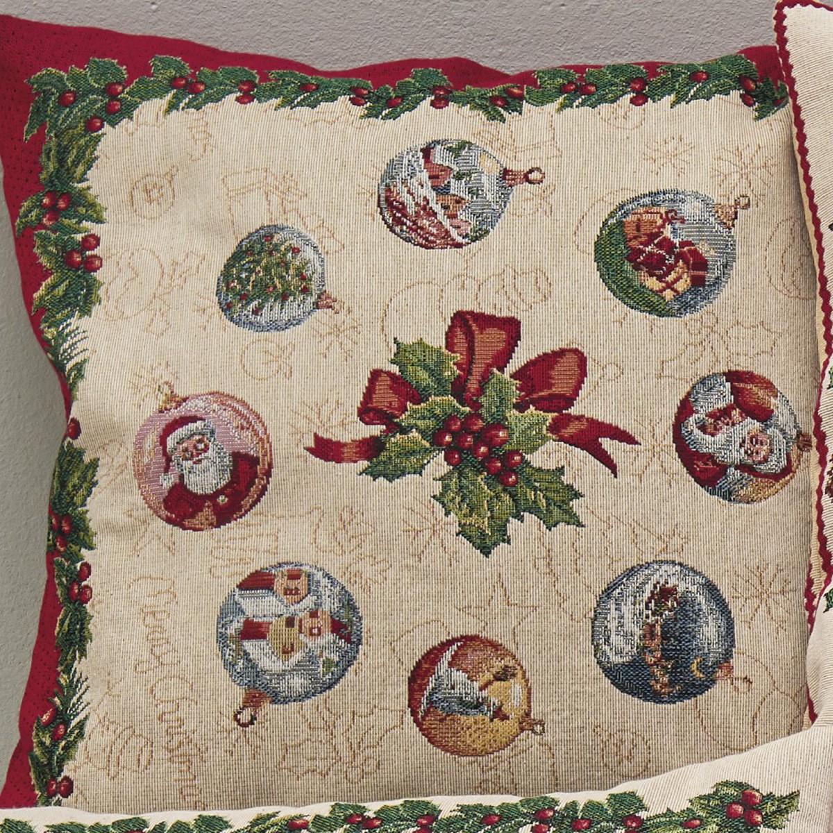 Χριστουγεννιάτικη Μαξιλαροθήκη Kentia Made Natale 17