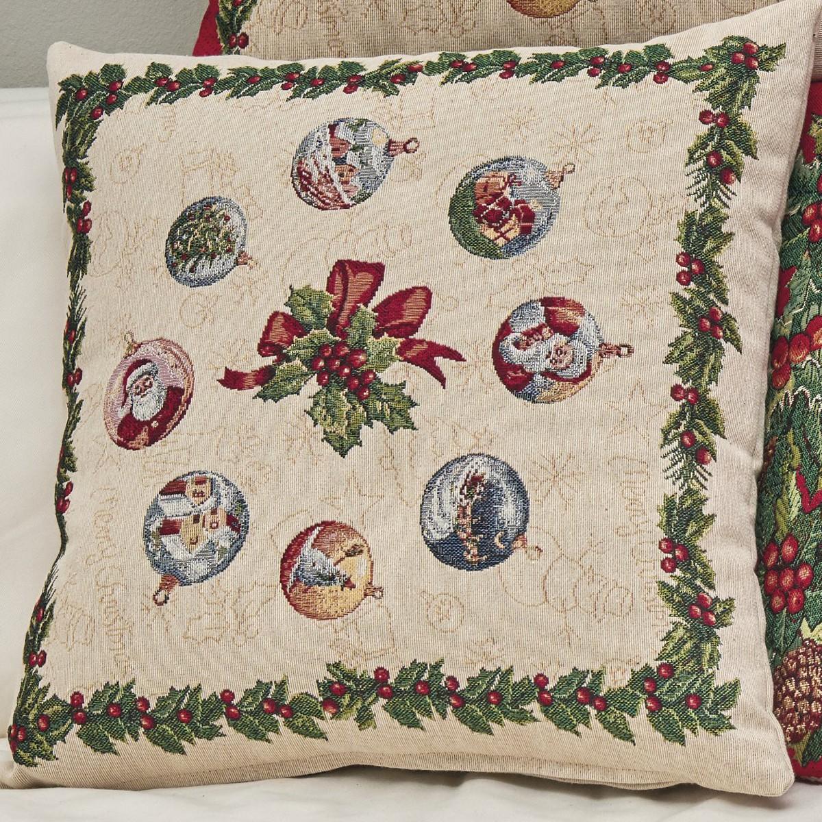 Χριστουγεννιάτικη Μαξιλαροθήκη Kentia Made Natale 12