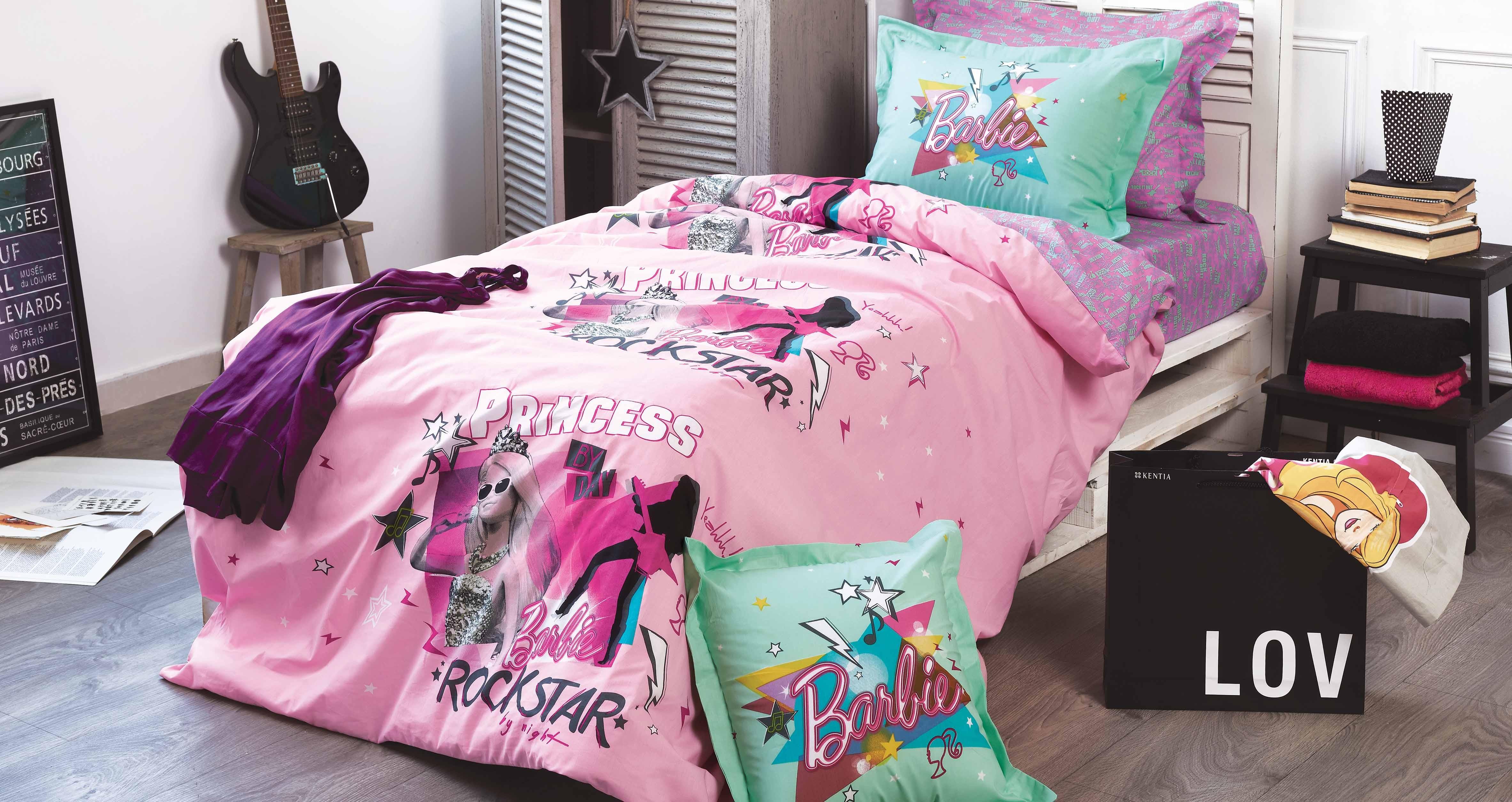 Παπλωματοθήκη Μονή (Σετ) Kentia Kids Collection Barbie 515