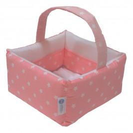 Καλαθάκι Καλλυντικών Κόσμος Του Μωρού 0684 Stars Ροζ