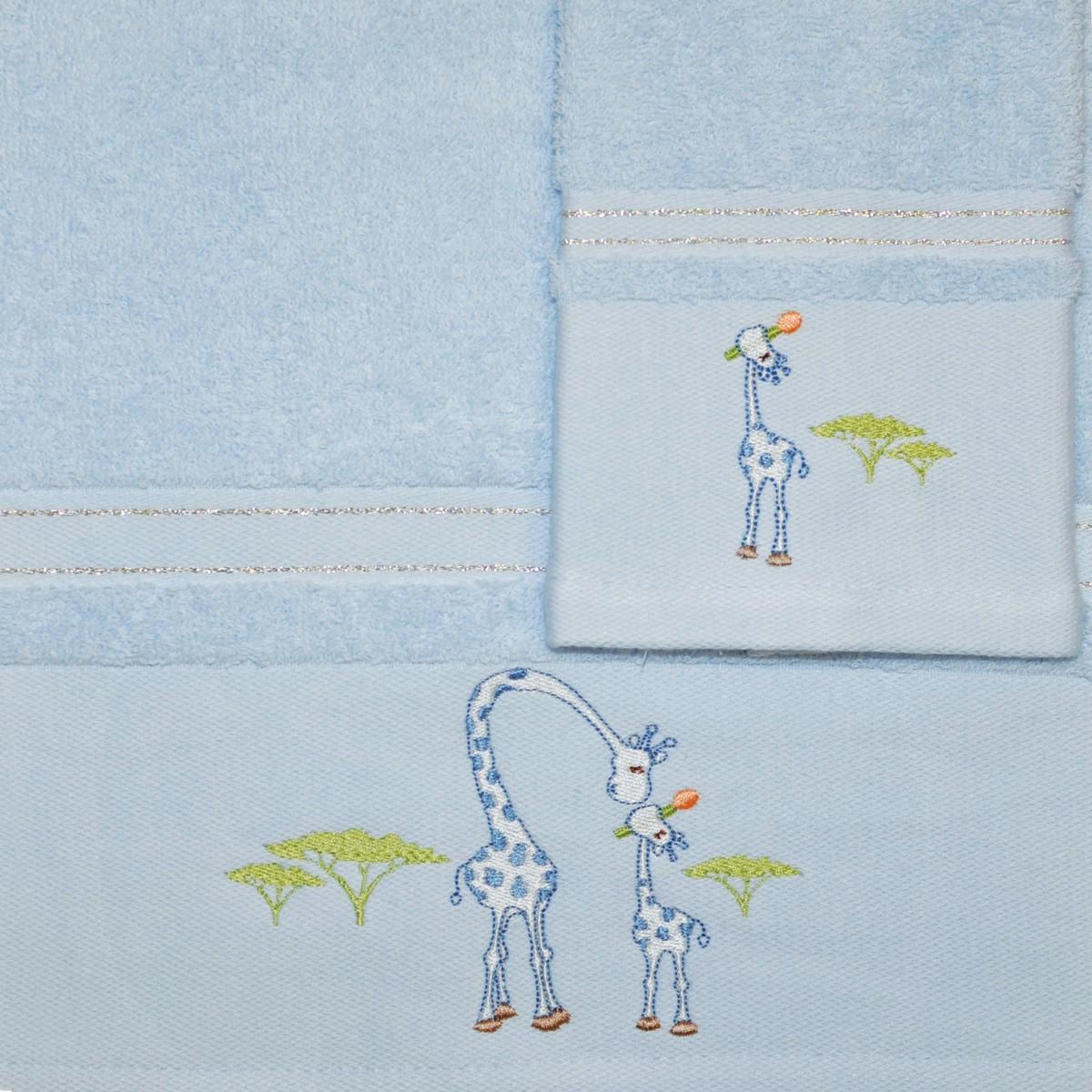 Βρεφικές Πετσέτες (Σετ 2τμχ) Morven 621 Blue