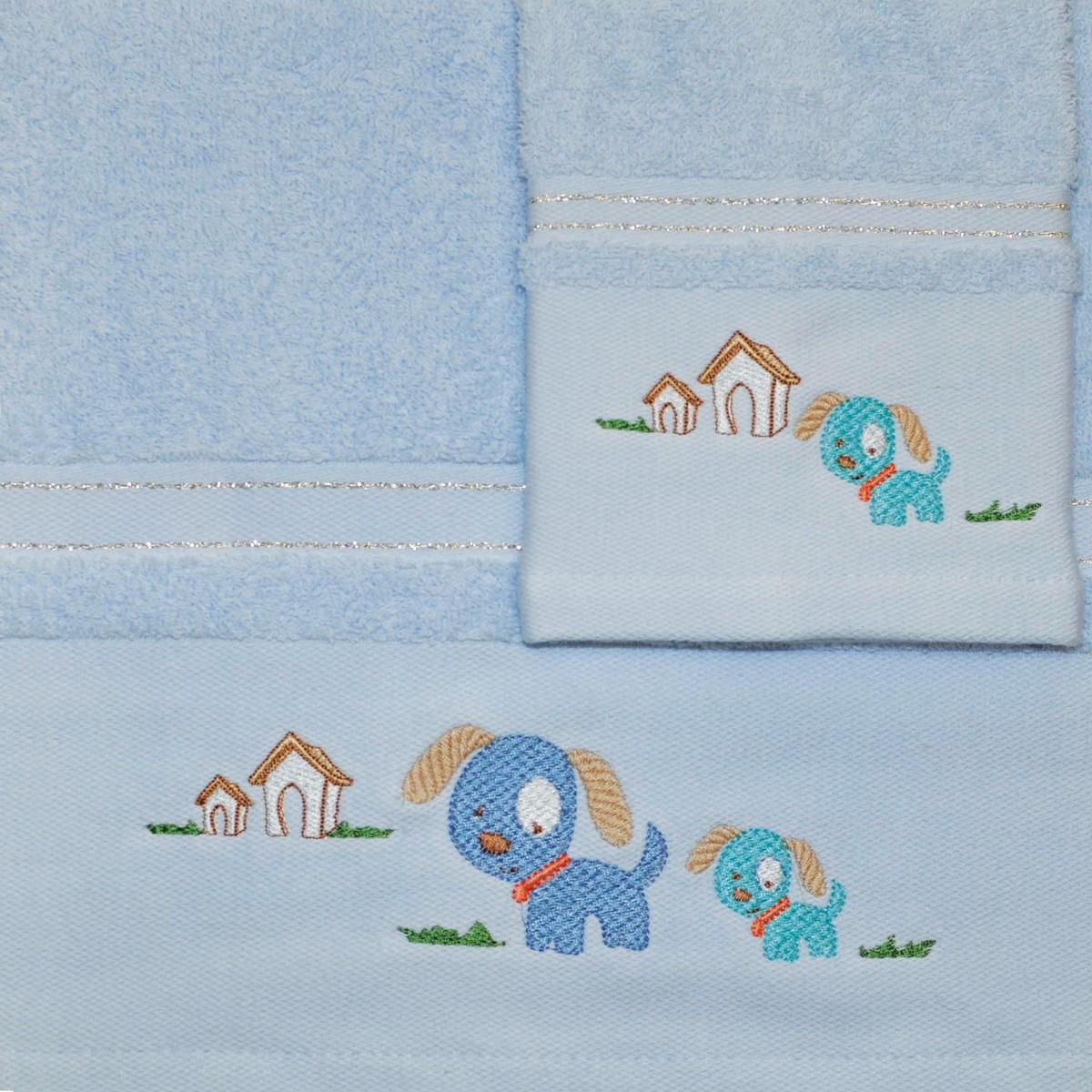 Βρεφικές Πετσέτες (Σετ 2τμχ) Morven 610 Blue