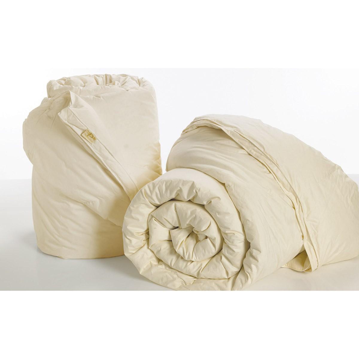 Πάπλωμα Πουπουλένιο Μονό Palamaiki 50/50 Aloe Vera Ivory