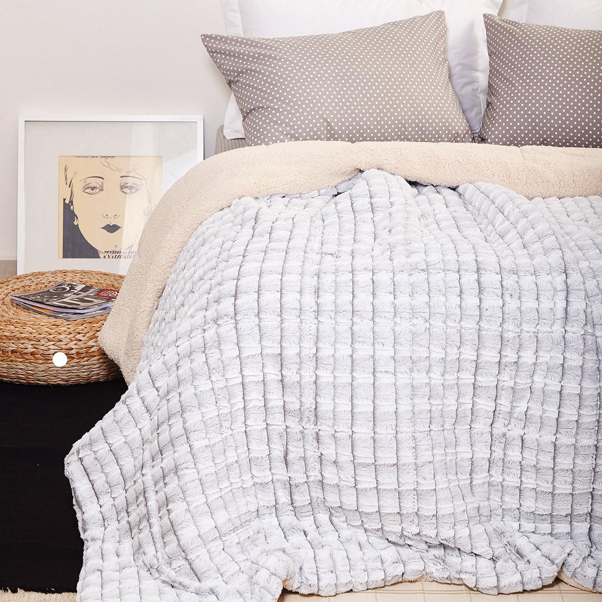 Κουβερτοπάπλωμα Μονό Melinen Abby Chess home   κρεβατοκάμαρα   παπλώματα   κουβερτοπαπλώματα