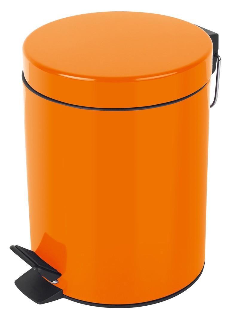 Κάδος Απορριμάτων Spirella 5Lit Sydney 05390 Orange