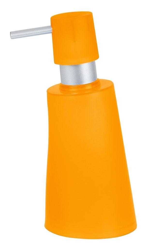 Δοχείο Κρεμοσάπουνου Spirella Move 02654 Orange
