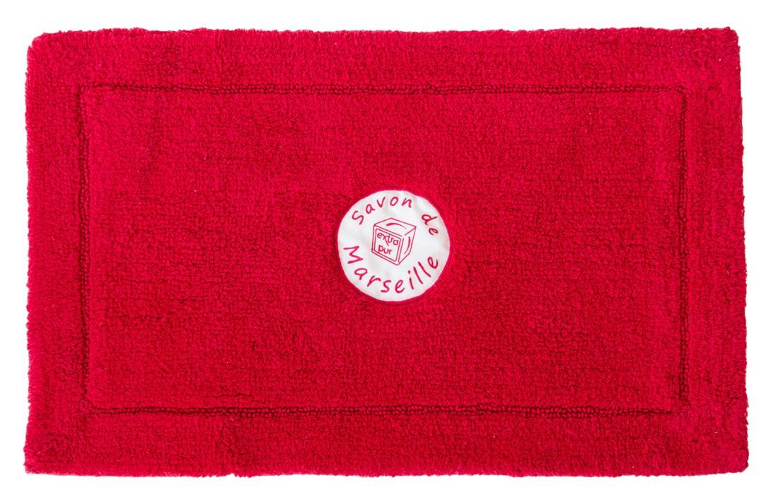Πατάκι Μπάνιου (50x80) Spirella Frioul 05626 Κόκκινο