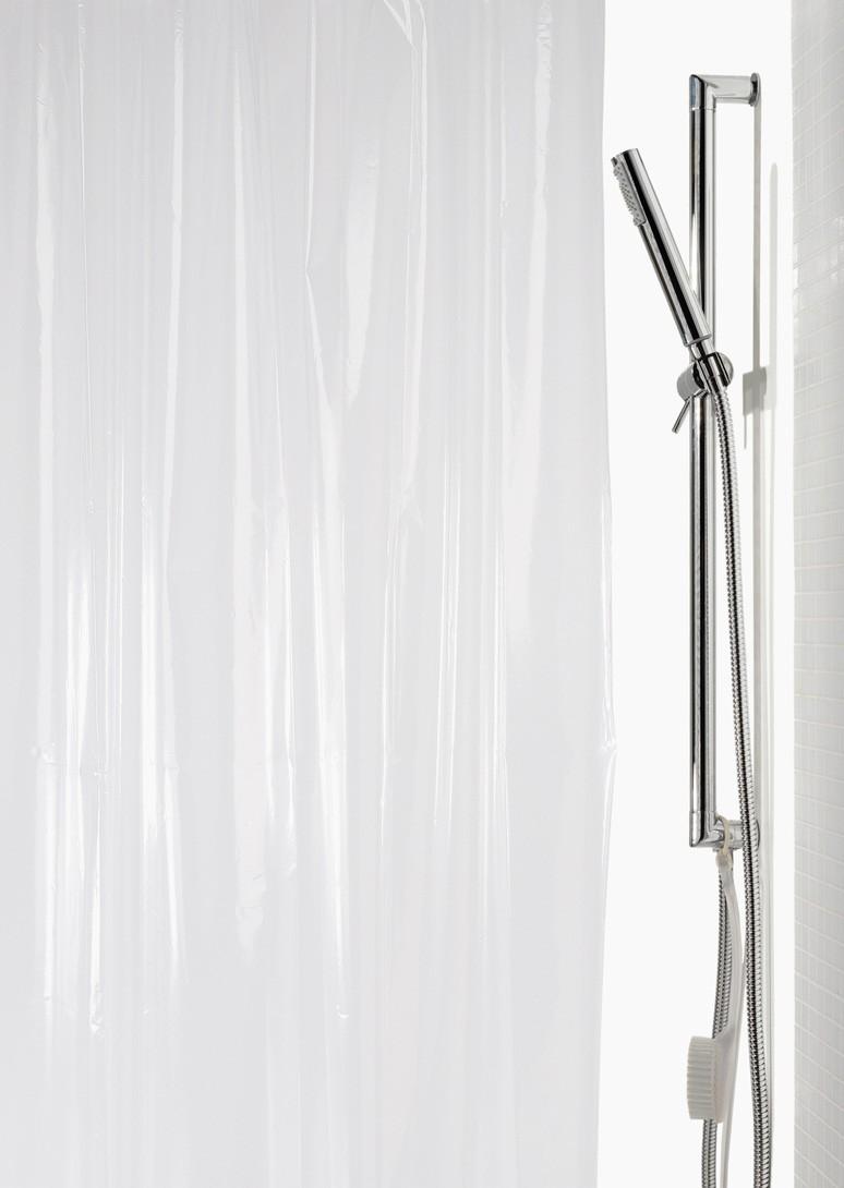 Κουρτίνα Μπάνιου Πλαστική (180x200) Rainbow Transparent 00900