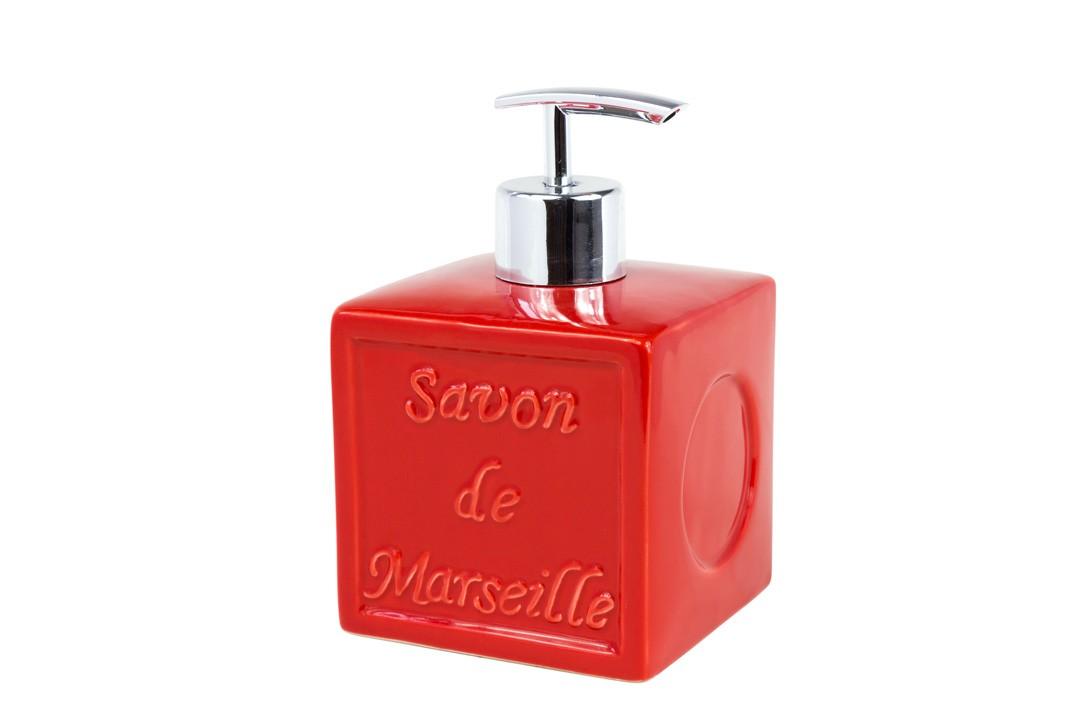 Δοχείο Κρεμοσάπουνου Spirella SavonDeMarseille 02765 Red