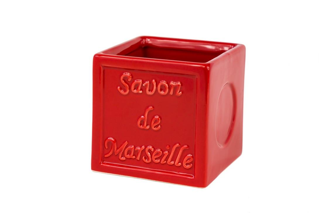 Ποτήρι Οδοντόβουρτσας Spirella SavonDeMarseille 02766 Red