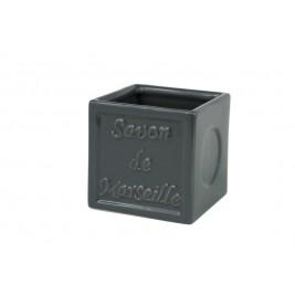 Ποτήρι Οδοντόβουρτσας Spirella SavonDeMarseille 02766 Anthracite