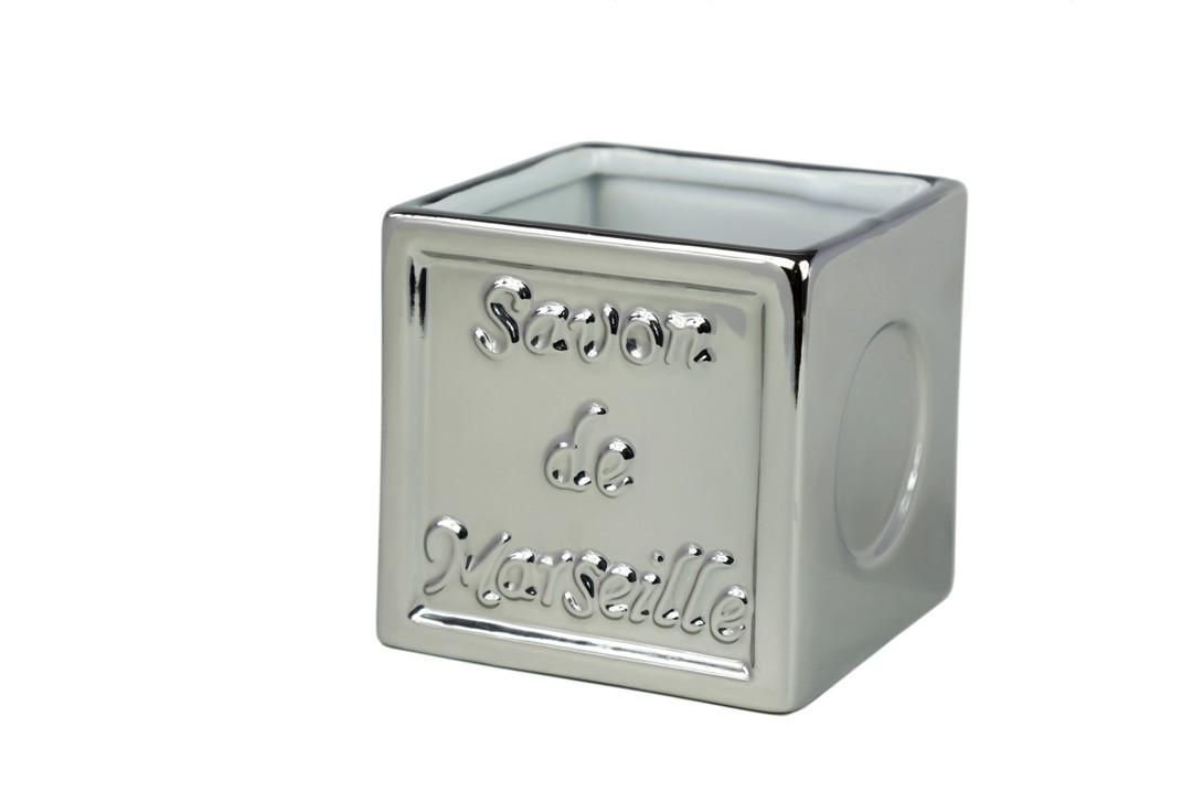 Ποτήρι Οδοντόβουρτσας Spirella SavonDeMarseille 02766 Silver