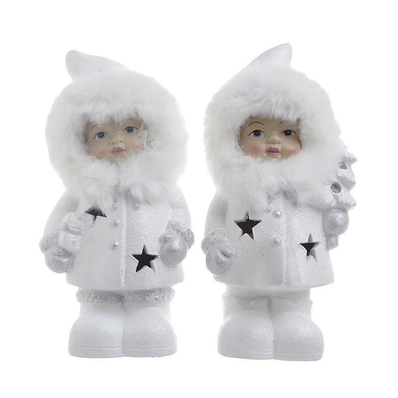 Χριστουγεννιάτικες Φιγούρες (Σετ 2τμχ) InArt 2-70-071-0045