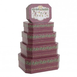 Χριστουγεννιάτικα Κουτιά (Σετ 5τμχ) InArt 2-70-926-0003