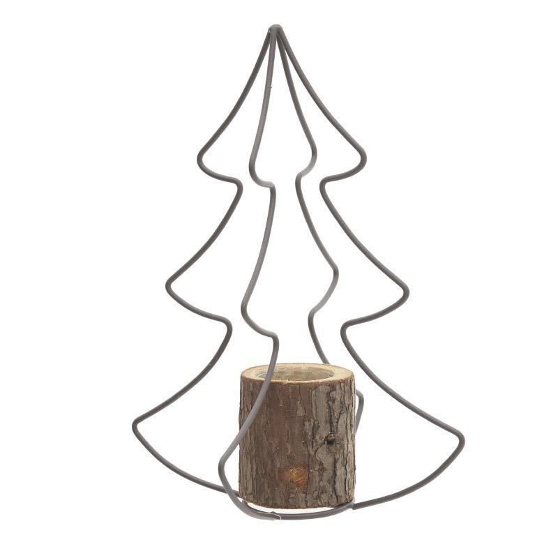 Χριστουγεννιάτικο Κηροπήγιο InArt 2-70-269-0034 home   χριστουγεννιάτικα   χριστουγεννιάτικα διακοσμητικά
