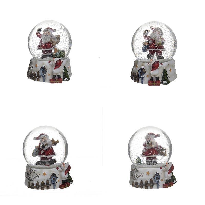 Χιονόμπαλες (Σετ 4τμχ) InArt 2-70-653-0103