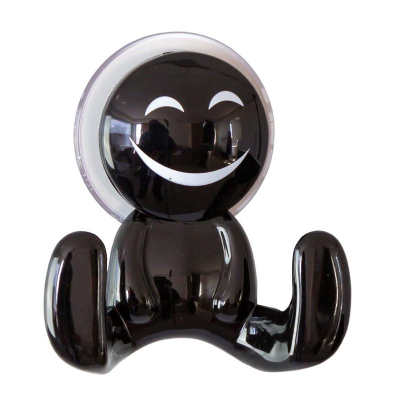 Κρεμαστράκι Spirella 05233 Happy Black