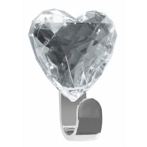 Κρεμαστράκι Αυτοκόλλητο Spirella Heart 05218 Diamond