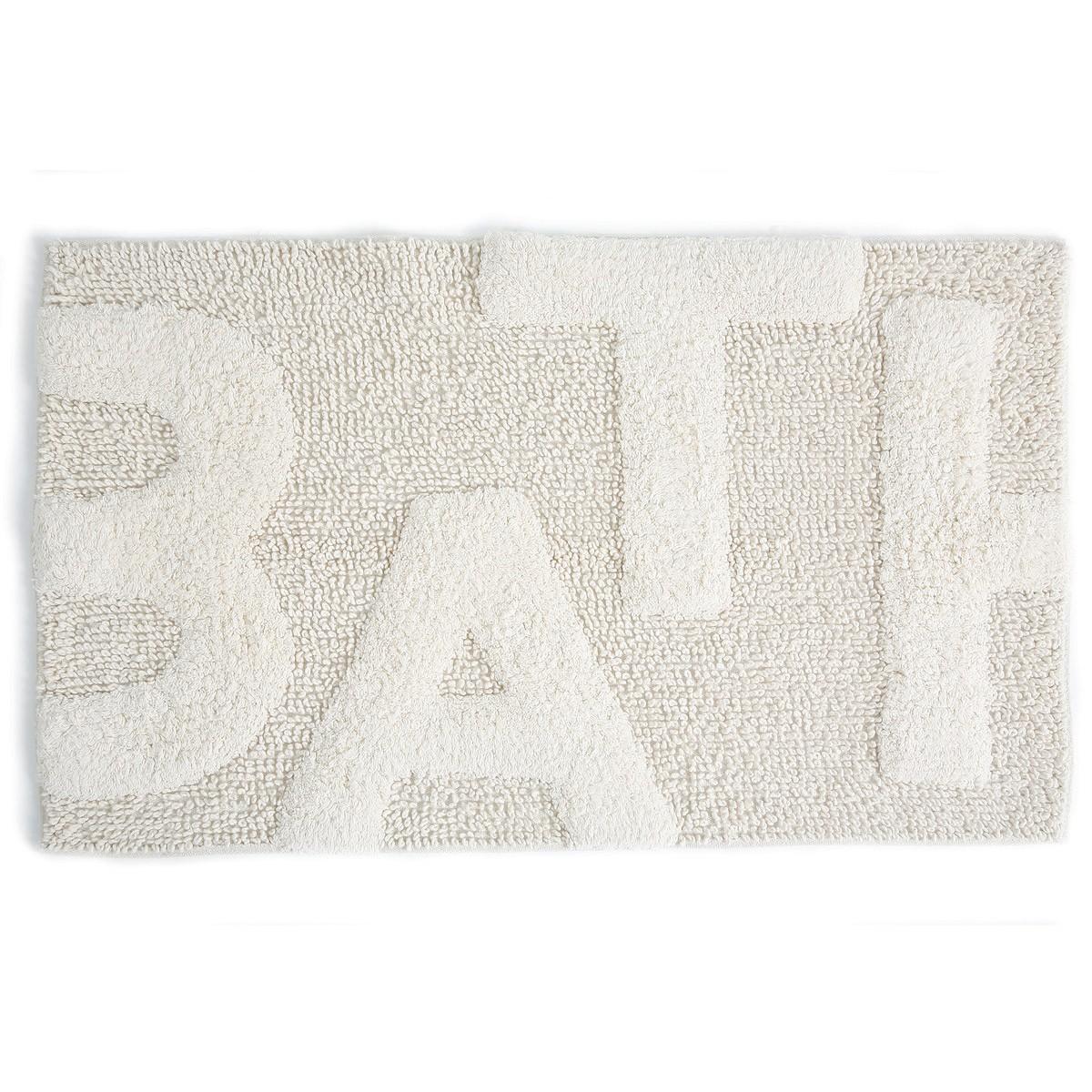 Πατάκι Μπάνιου (50x80) Dimitracas Bath Tapis 05570 Εκρού