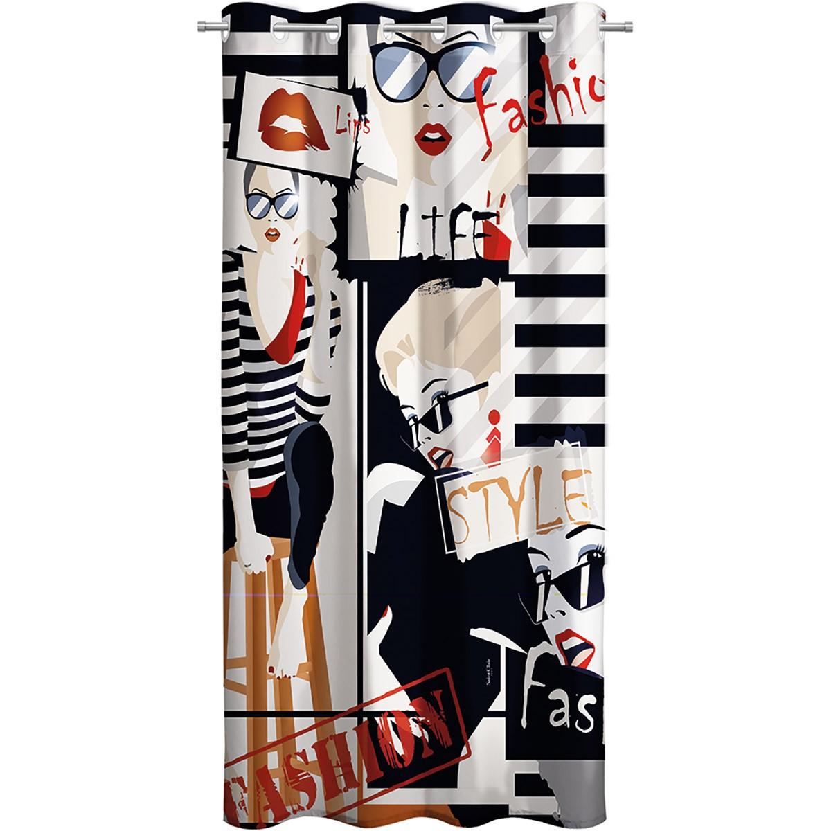 Παιδική Κουρτίνα (160×250) Με Τρουκς Saint Clair Teens Fashion
