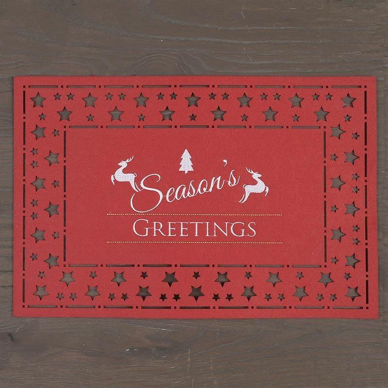 Χριστουγεννιάτικo Σουπλά InArt 2-40-108-0064