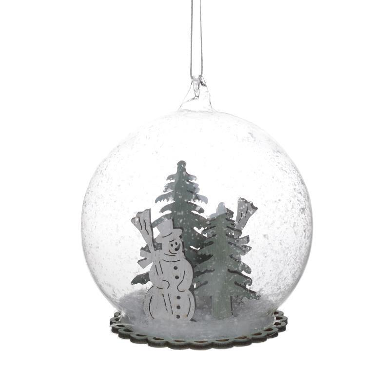 Χριστουγεννιάτικα Στολίδια (Σετ 6τμχ) InArt 2-70-686-0011