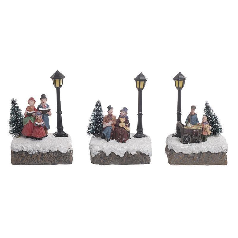 Χριστουγεννιάτικη Παράσταση (Σετ 6τμχ) InArt 2-70-441-0021