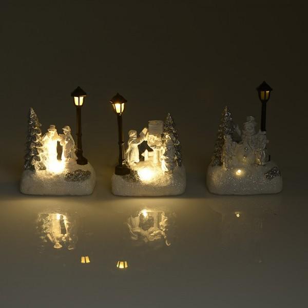 Χριστουγεννιάτικη Παράσταση (Σετ 6τμχ) InArt 2-70-441-0022