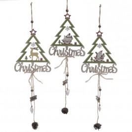 Χριστουγεννιάτικα Στολίδια (Σετ 3τμχ) InArt 2-70-428-0013