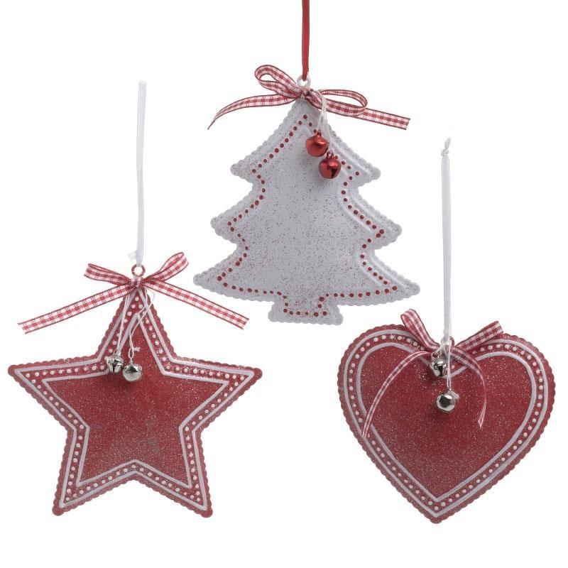 Χριστουγεννιάτικα Στολίδια (Σετ 3τμχ) InArt 2-70-428-0015