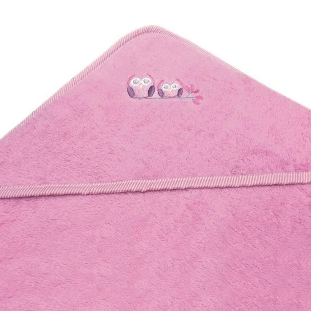 Βρεφική Κάπα Morven Owl Pink home   βρεφικά   κάπες βρεφικές