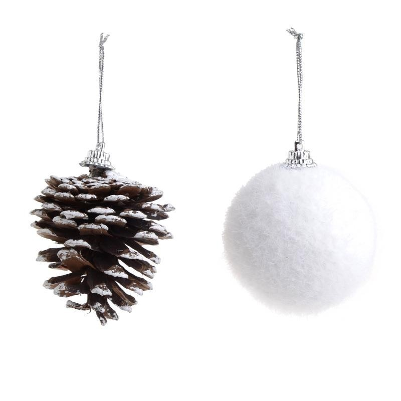 Χριστουγεννιάτικα Στολίδια (Σετ 5τμχ) InArt 2-70-675-0458