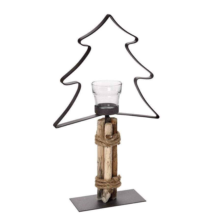 Χριστουγεννιατικό Κηροπήγιο Espiel AST509