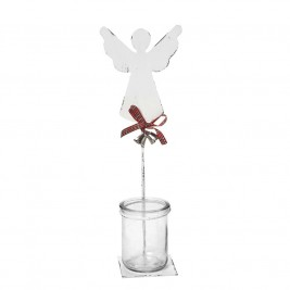Χριστουγεννιατικό Κηροπήγιο Espiel Μικρός Άγγελος AST528