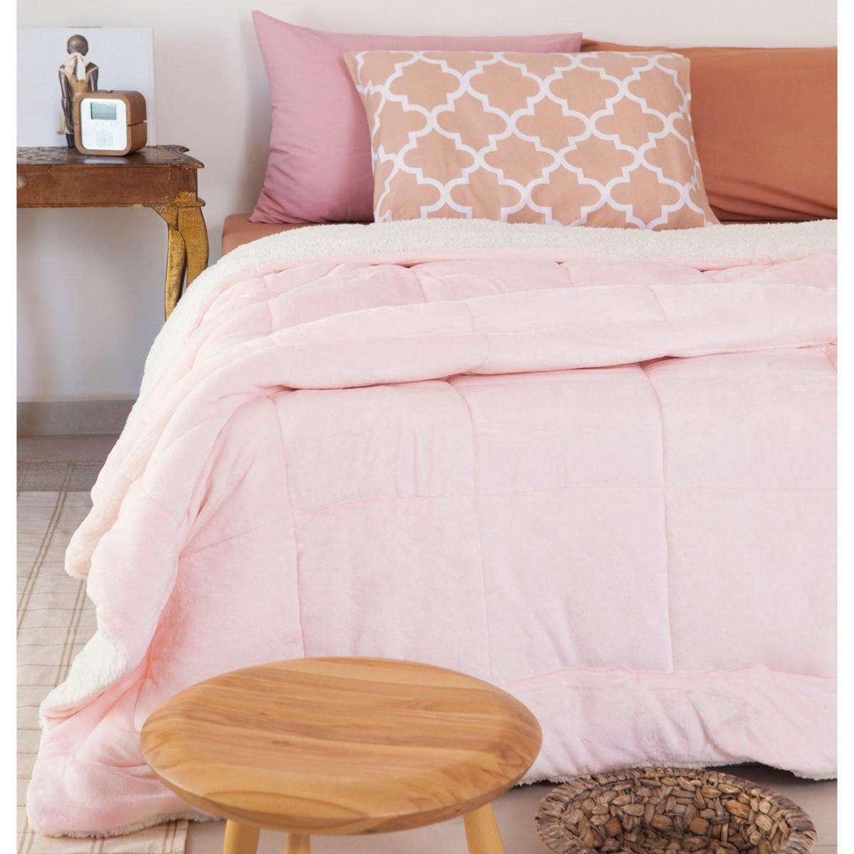 Κουβερτοπάπλωμα Υπέρδιπλο Melinen Dreamy Powder Pink