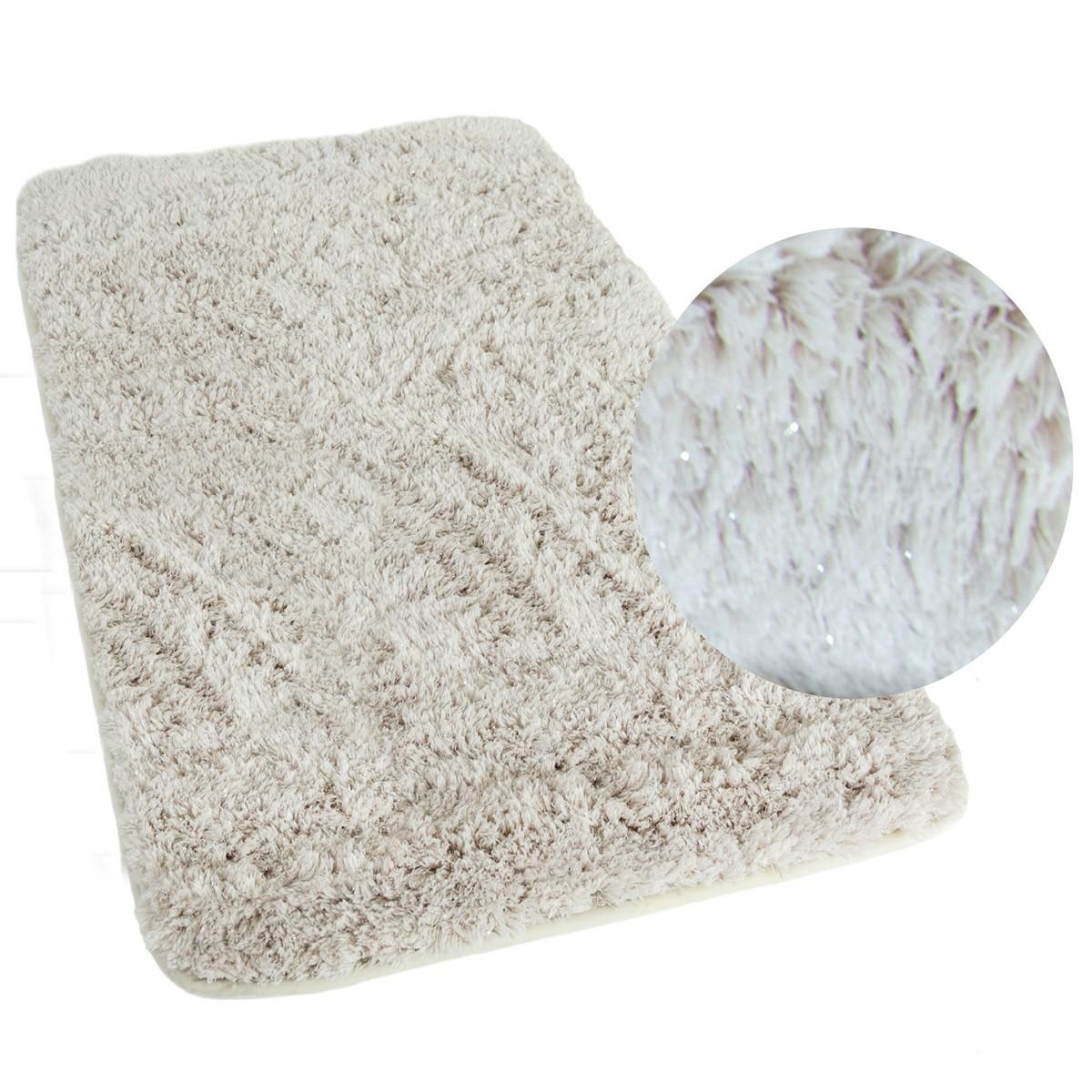 Πατάκι Μπάνιου (50×80) Spirella Silver Beige