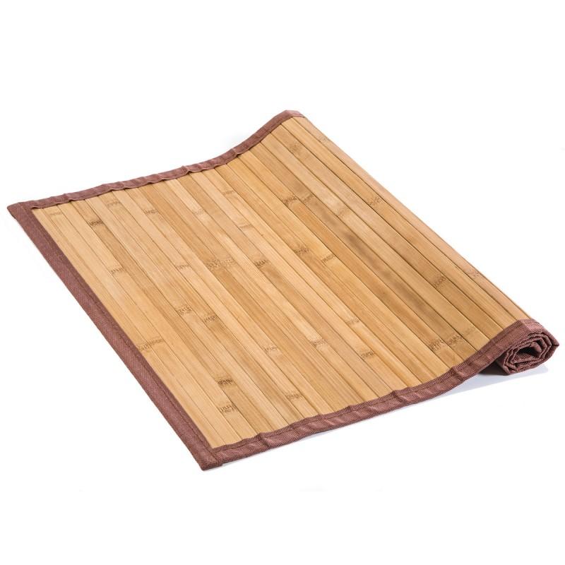 Πατάκι Μπάνιου (50x80) Spirella Bamboo Yalong 00315.001 Beige