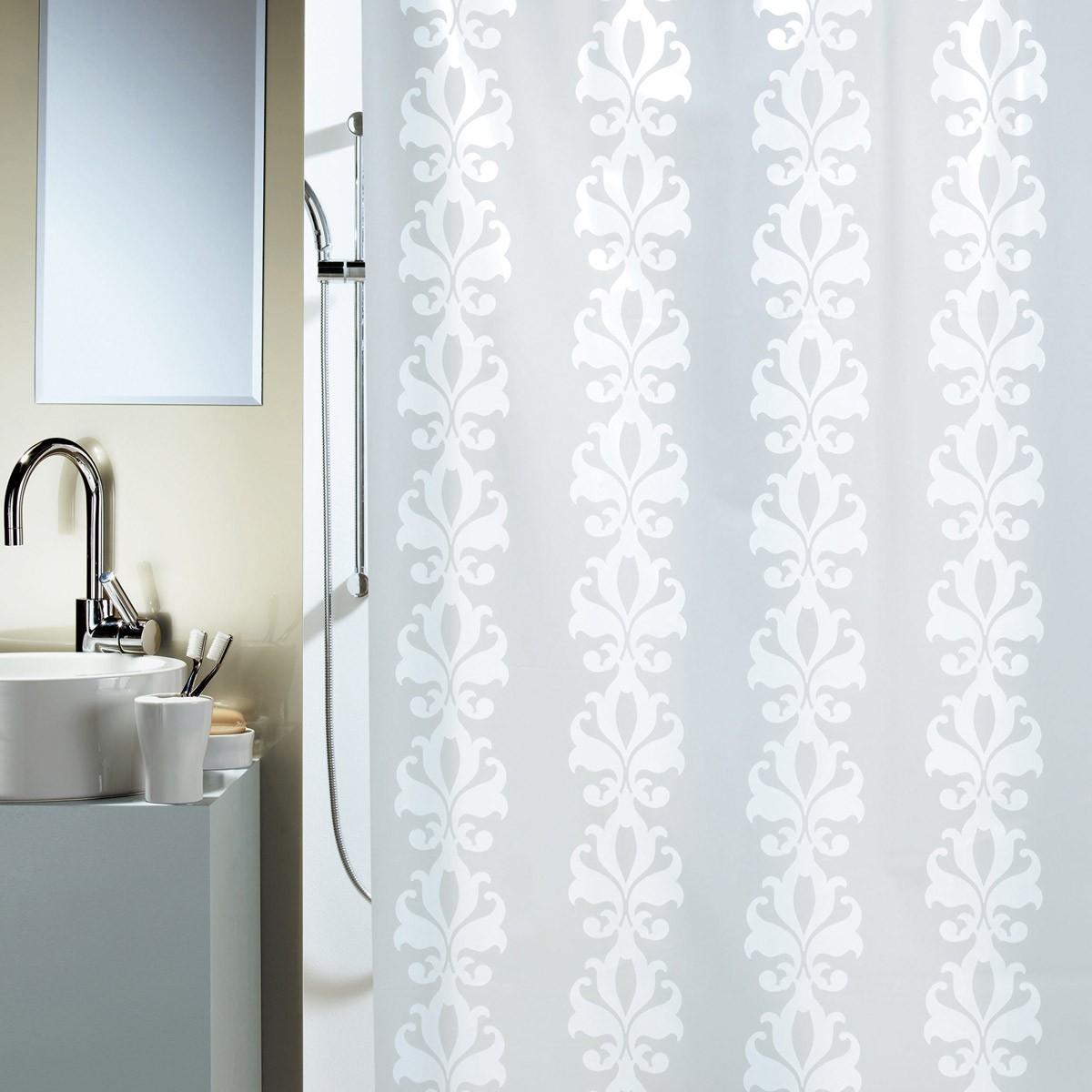 Κουρτίνα Μπάνιου Πλαστική (180×200) Rainbow 00868.001 Milady