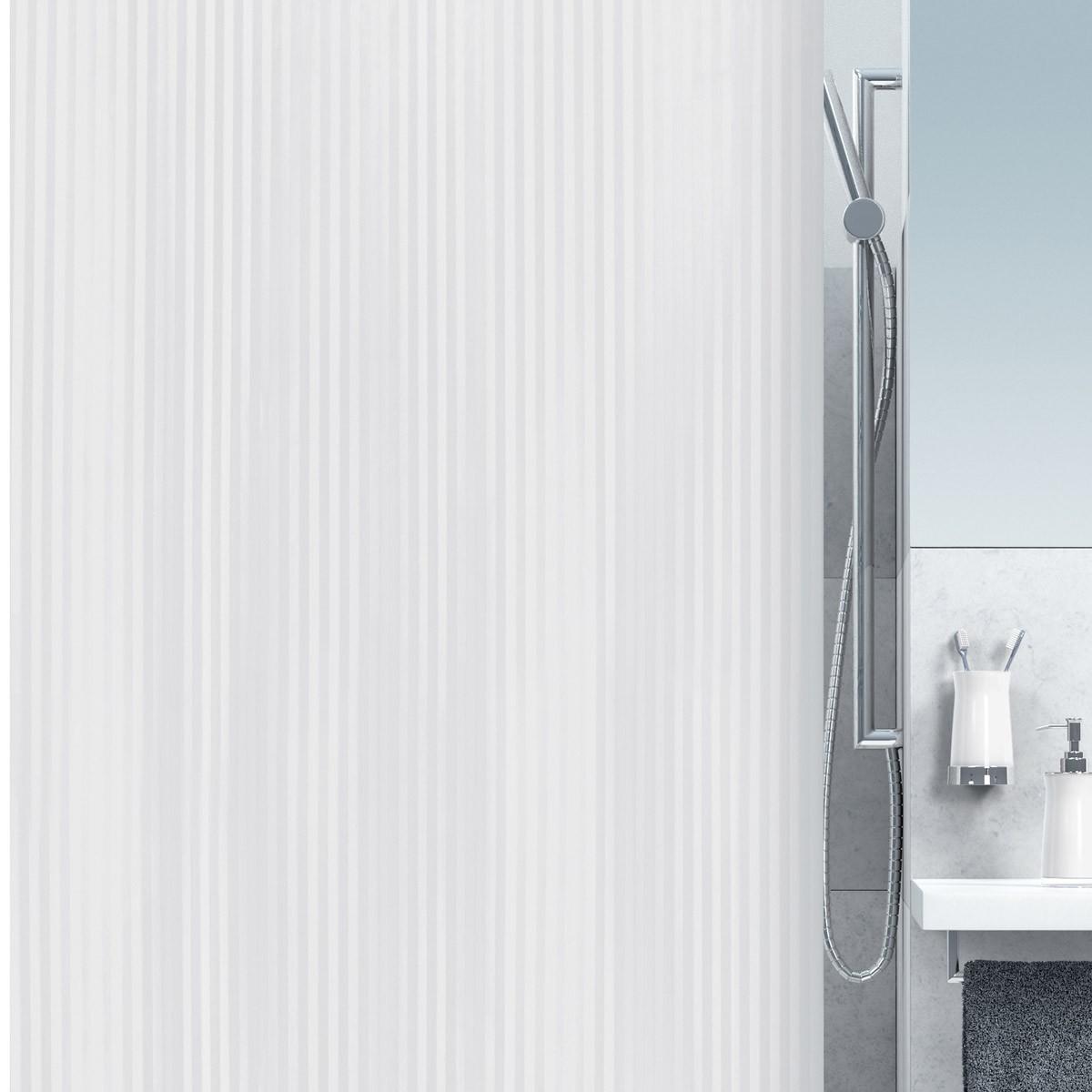 Κουρτίνα Μπάνιου Πλαστική (180x200) Rainbow Twill