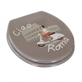 Καπάκι Τουαλέτας Spirella Ciao Roma