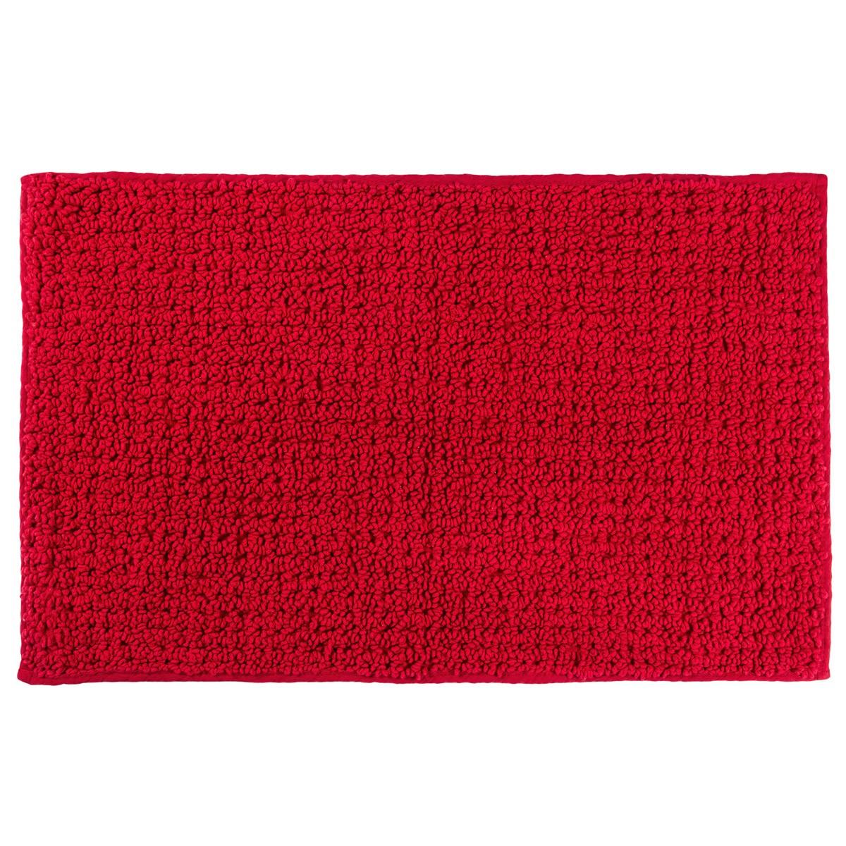 Πατάκι Μπάνιου (50x80) Rainbow Caldera Κόκκινο
