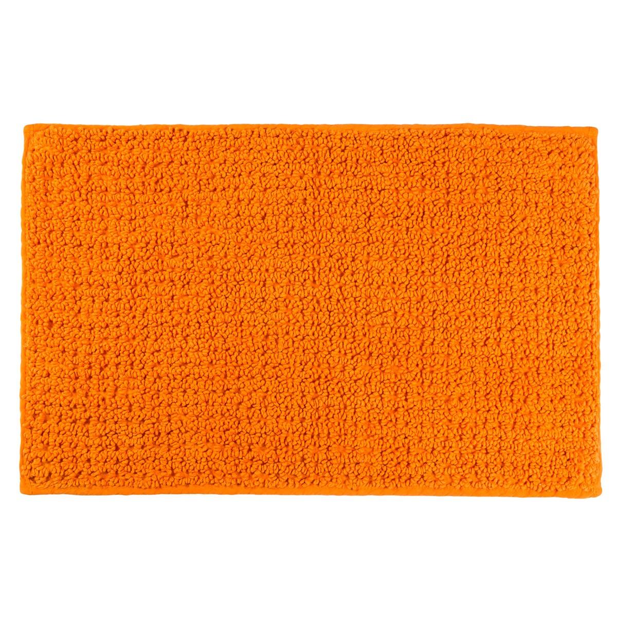 Πατάκι Μπάνιου (50x80) Rainbow Caldera Πορτοκαλί