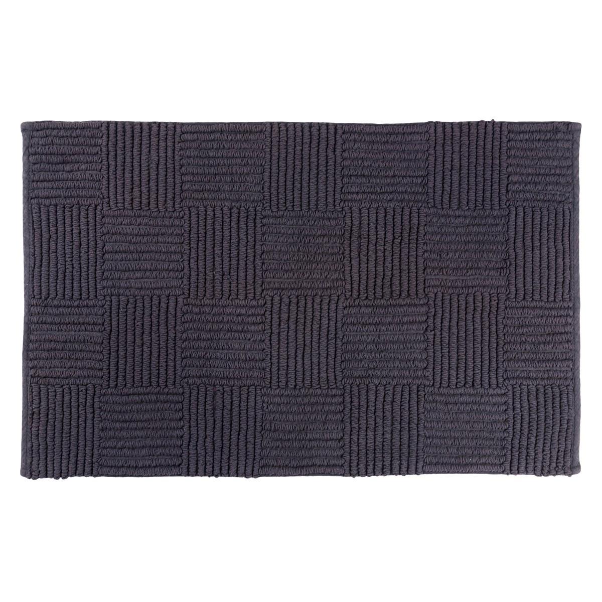 Πατάκι Μπάνιου (50×80) Rainbow Frame 05575.003 Granite