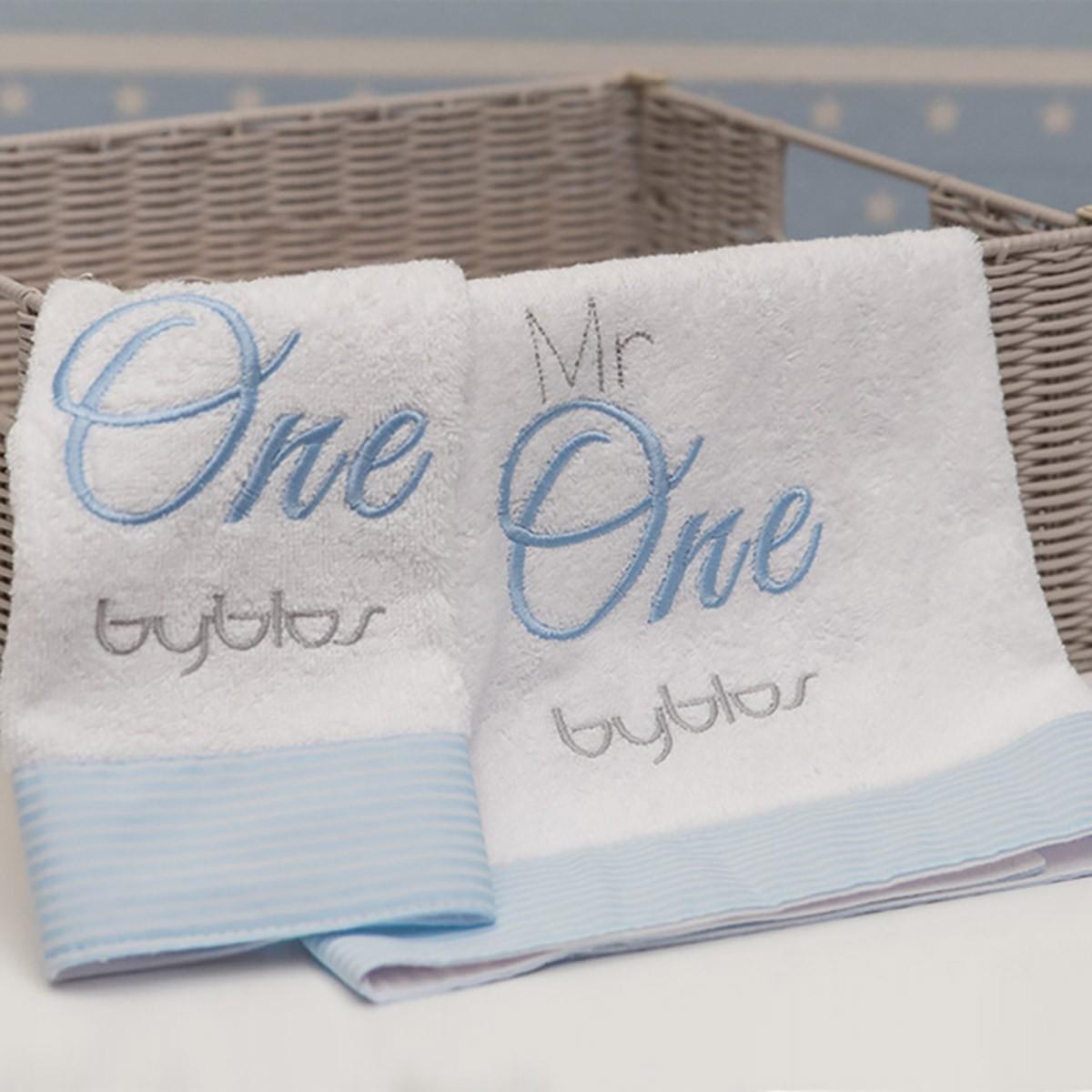 Βρεφικές Πετσέτες (Σετ 2τμχ) Byblos Des 82 One Blue