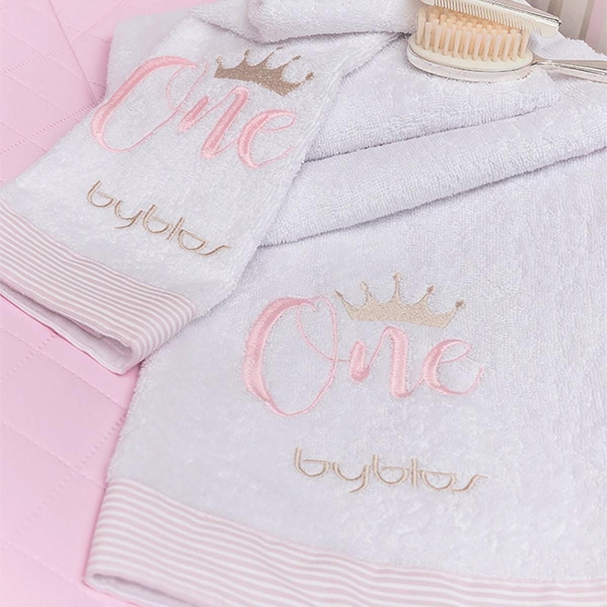 Βρεφικές Πετσέτες (Σετ 2τμχ) Byblos Des 83 One Pink