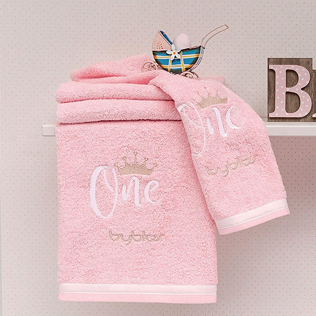 Βρεφικές Πετσέτες (Σετ 2τμχ) Byblos Des 86 One Pink 84082