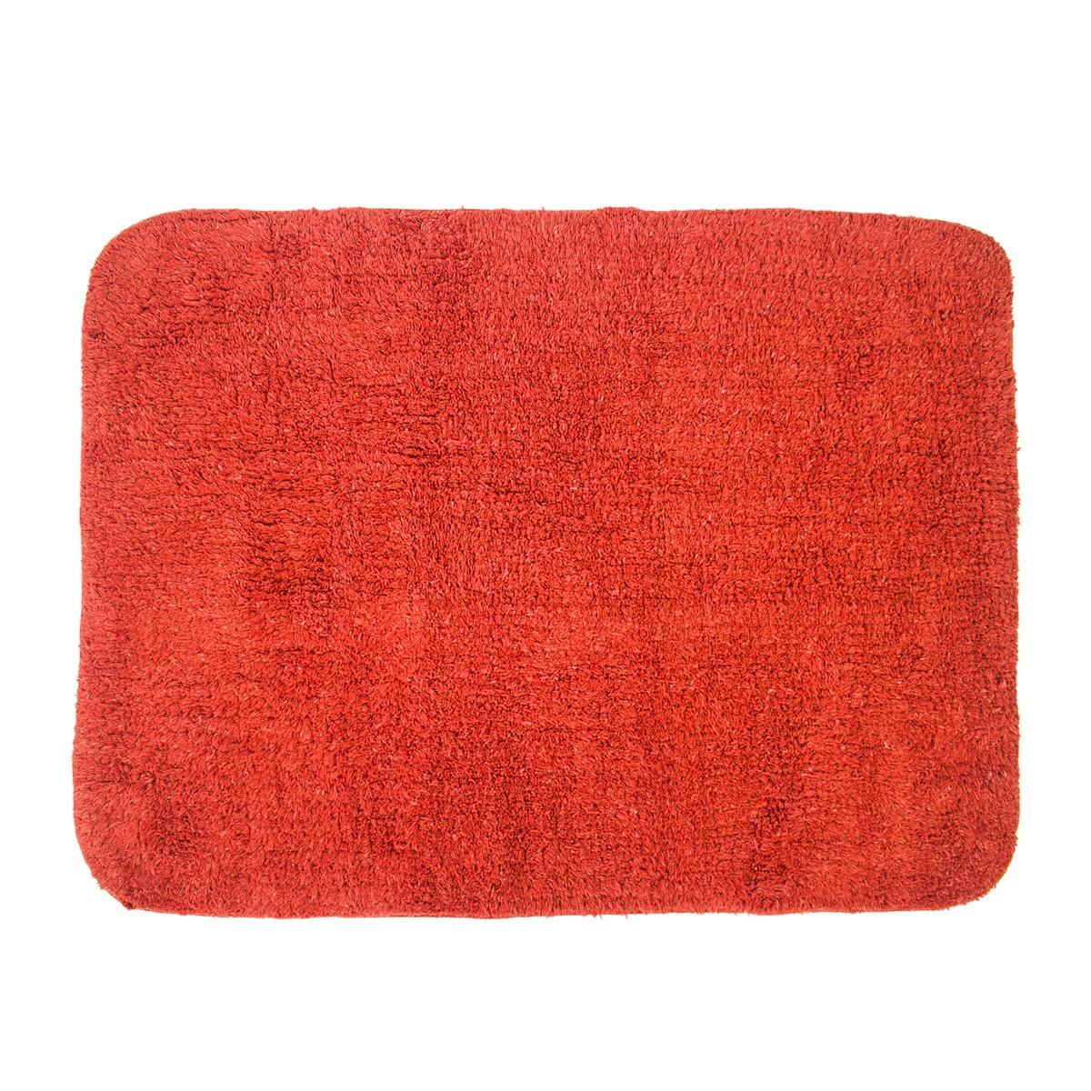 Πατάκι Μπάνιου (50x70) Rainbow Campione 05581 Κόκκινο