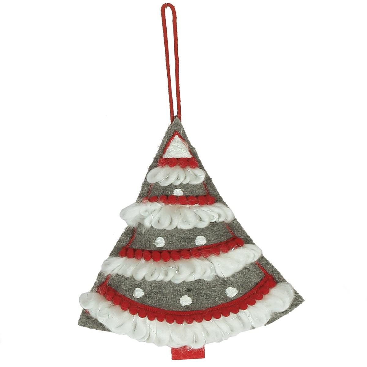 Χριστουγεννιάτικο Στολίδι Nef-Nef Grey Tree