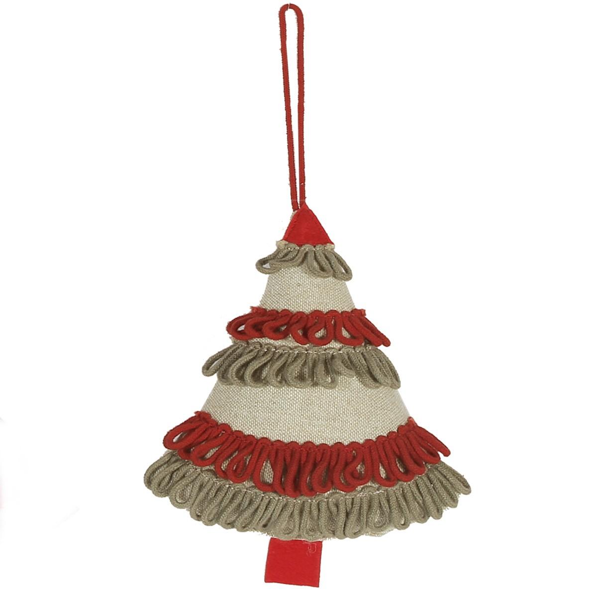 Χριστουγεννιάτικο Στολίδι Nef-Nef Linen Tree