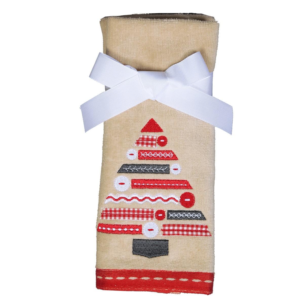 Χριστουγεννιάτικες Πετσέτες Χεριών (Σετ 2τμχ) Nef-Nef Holy Tree
